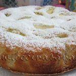 Tarta de Manzanas Super-Light (muy ligera) de Francesca