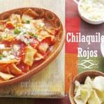 Chilaquiles Rojos receta fácil mexicana