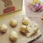 Ratoncitos de Pan para el día del niño