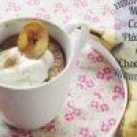 Mug cake de Plátano y Chispas de Chocolate: En menos de 15 minutos