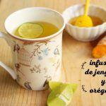 Infusión de Jengibre, Orégano, Canela y Cúrcuma: Para los resfriados