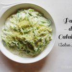 Pasta de Calabacín en Salsa Alfredo. Elaborar pasta ligera y sana en casa