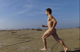 Slow-Motion Naked Beach Run Will Make Your Day [NSFW]