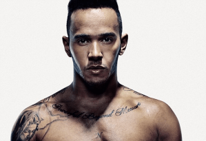 MAN CANDY: Lewis Hamilton Stripped & Ripped For Men's Health