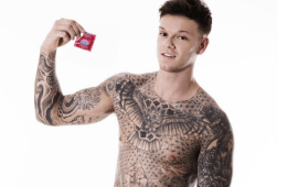 MAN CANDY: X Factor's Ellis Lacy Goes Full Frontal to Show You How To Put on a Condom [NSFW]