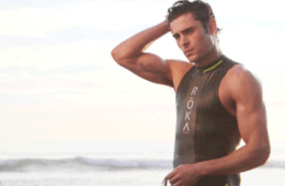 MAN CANDY: Zac Efron is All Bulge & Biceps in Bodysuit on Set of Baywatch