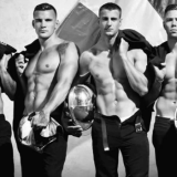 MAN CANDY: French Firefighters Burn their Clothes for Steamy Charity Calendar [NSFW-ish]