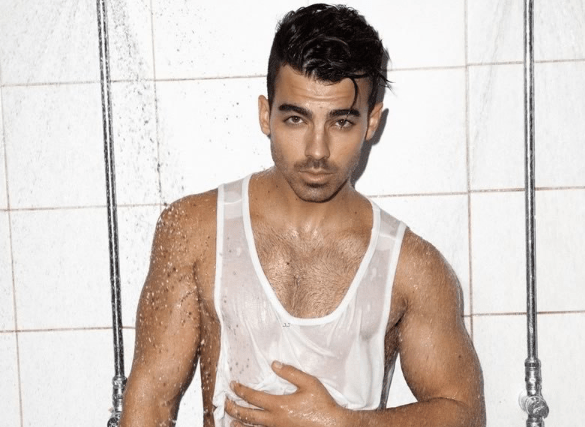 MAN CANDY: Joe Jonas Hits the Showers, Talks Getting Caught Watching Porn