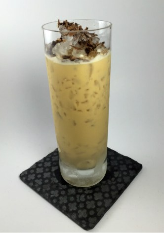Mudslide Flip Cocktail