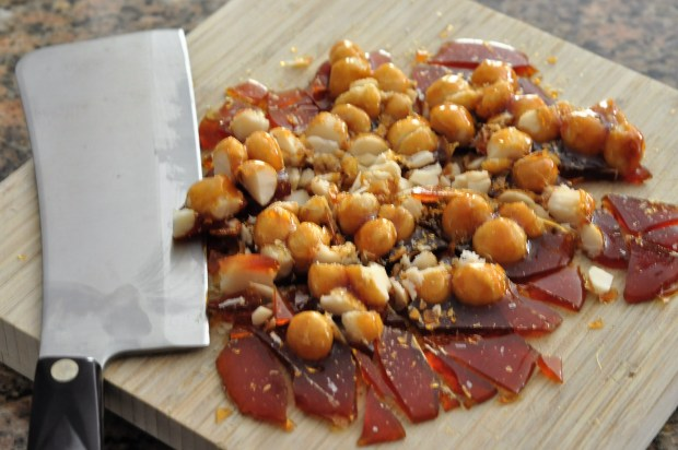 Chopped Candied Macadamia Nuts