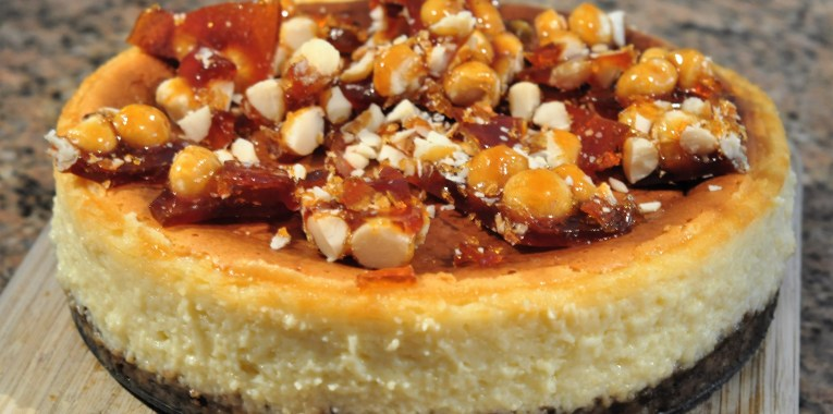 Coconut Maadamia Girl Scout Samaos Cheesecake