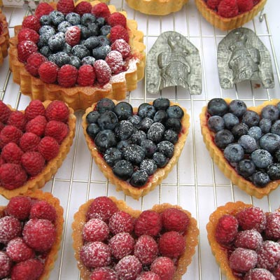 fruit tarts from Coco&Me