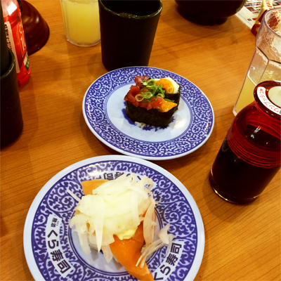www.cocoandme.com - Coco&Me - Coco and Me - Japan - Kurazushi - Sushi conveyor belt restaurant