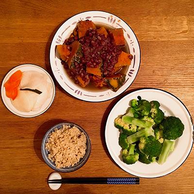 Coco&Me blog - AZUKI AND PUMPKIN DISH - www.cocoandme.com