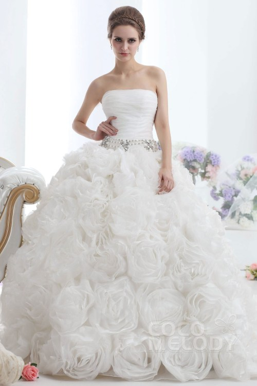 Medium Of Ivory Wedding Dress