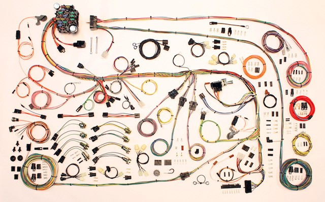 Complete Wiring Harness Kit - 1967-75 Plymouth Barracuda Part