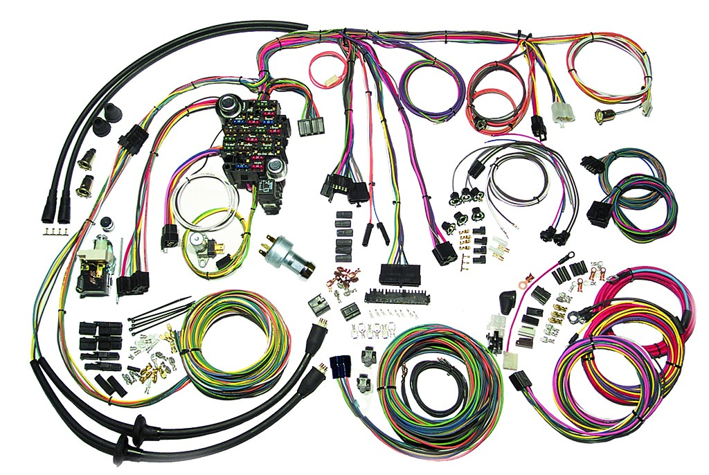57 Chevy Belair Wire Harness Complete Wiring Harness Kit - 1957