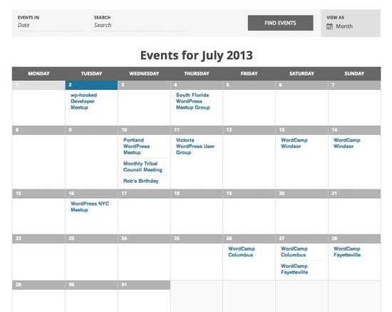 Multiple Calendars In Google My Maps Google Calendar 10 Best Wordpress Calendar Plugins Codefear