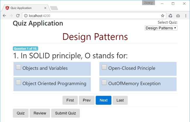 Quiz Application in Angular 2 - CodeProject
