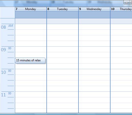 A Professional Calendar/Agenda View That You Will Use - CodeProject - sample agenda calendar