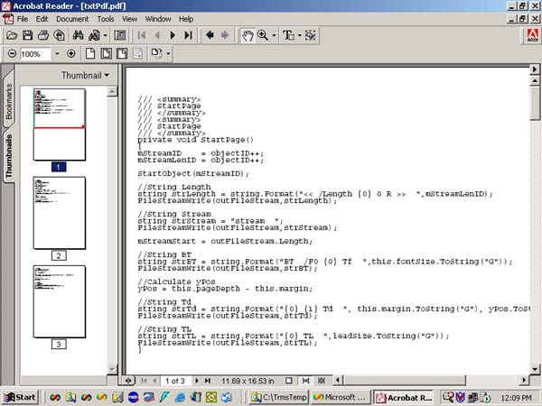 Convert a Text File to a PDF File - CodeProject - Convert File To Pdf