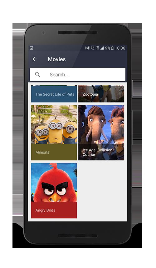 Android Movies App Template Codester