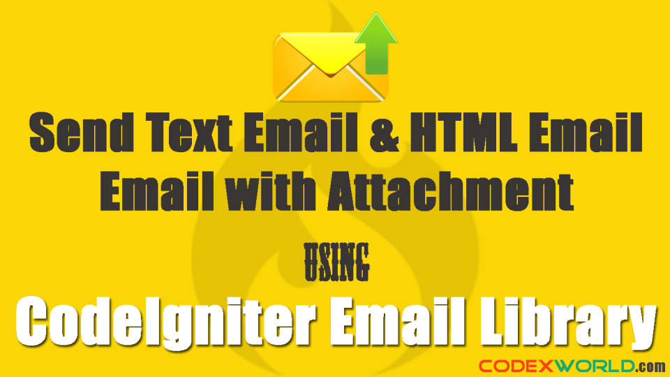 sending-email-in-codeigniter-by-codexworld