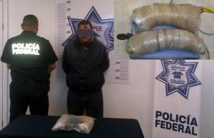 Detienen a conductor con dos kilos de cristal en la carretera a Juárez