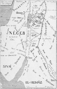 Bedouin map