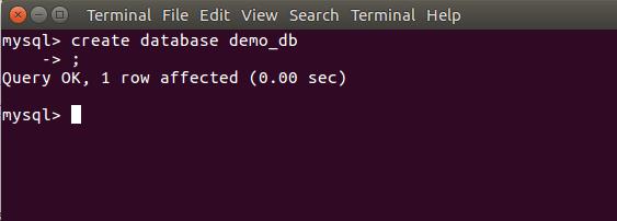 Run MySQL Client in Ubuntu