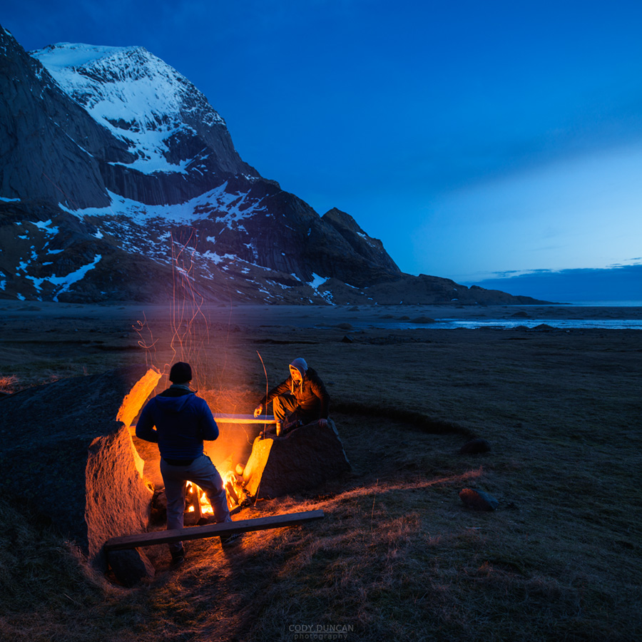 Fire And Water Hd Wallpapers Lofoten Islands I Cody Duncan Photography