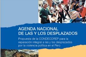 agenda nacional de las y los desplazados