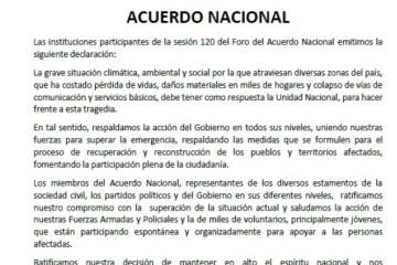 acuerdo nacional pronunciamiento marzo2017 COEECI