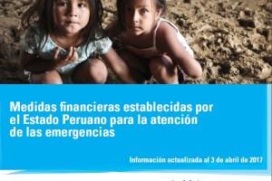 medidas financieras Estado Peruano emergencias 03abril2017