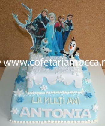 Tort aniversar cu Frozen oradea (498)
