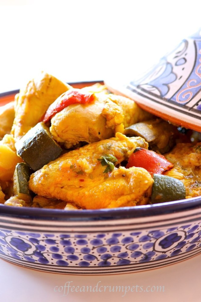 tagine 682x1024 Harissa Chicken and Vegetable Tagine