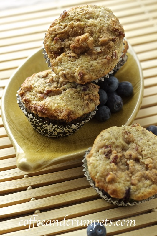 muffins Blueberry Flax Streusel Muffins