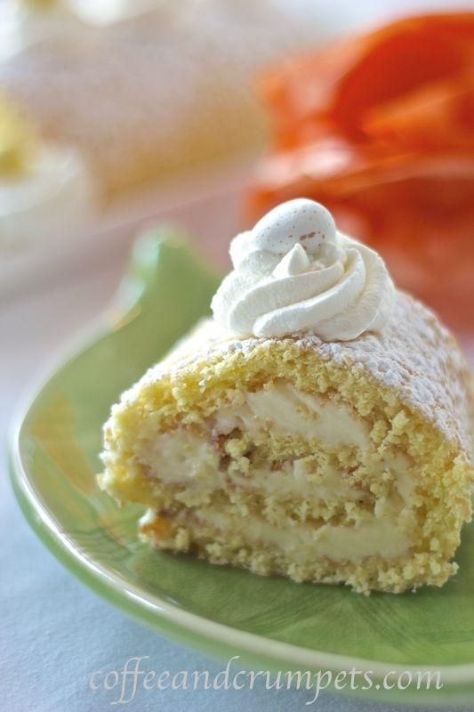 Lemon Mascarpone Cream Cake