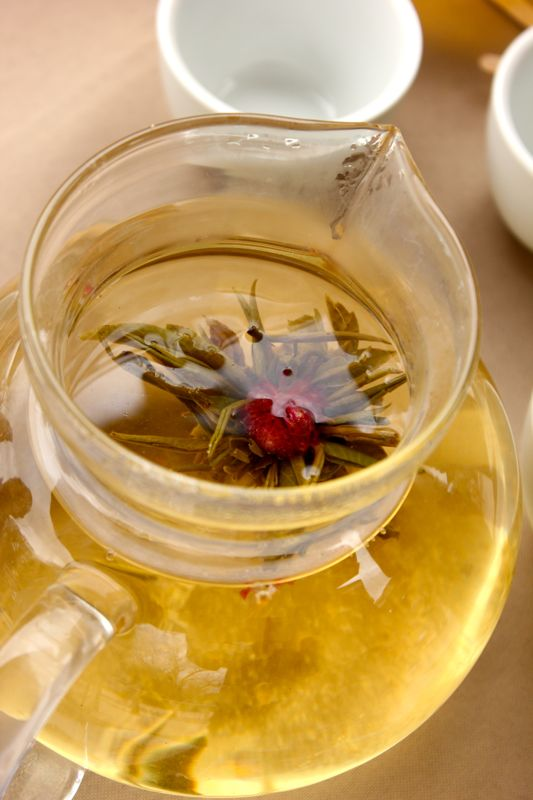 Red Flowering Jasmine Tea