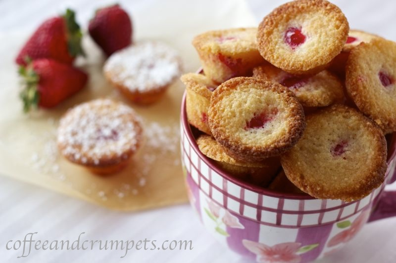 cherry madeira financiers