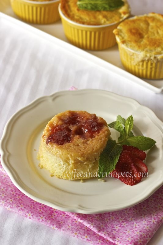 sr pudding Strawberry Rhubarb Pudding