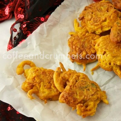Onion Bhajis | Onion Fritters