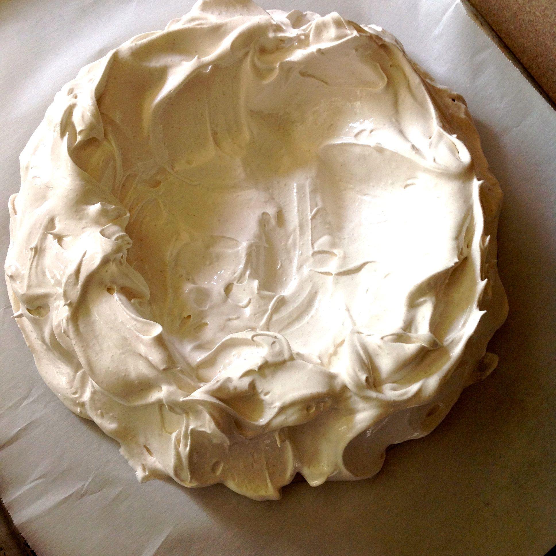 meringue shell