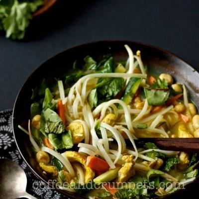 Chicken Laksa | A Fusion Noodle Soup