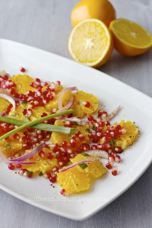 orange and pomegranate salad1