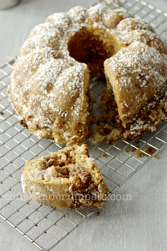 pear blackberry cake
