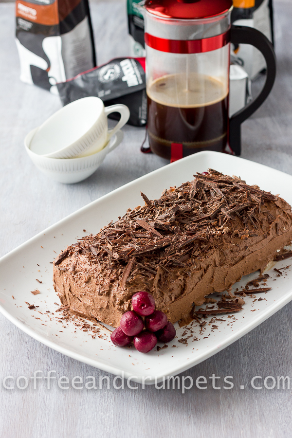 Black Forest Roulade and Lavazza Coffee-1