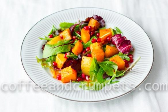 Butternut Squash and Sweet Potato Salad-1