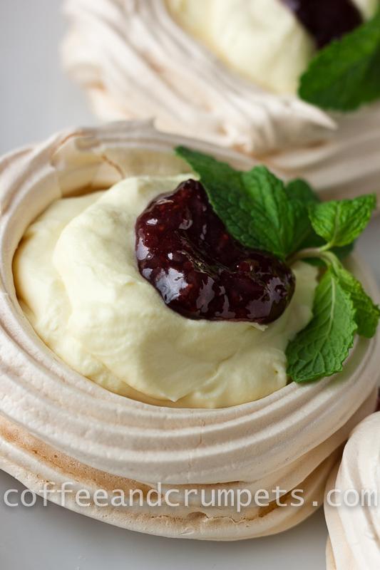 White Chocolate Mousse Meringues-1