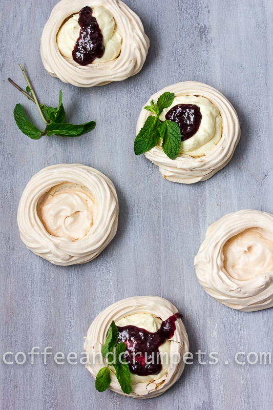 White Chocolate Mousse Meringues-4